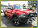 2017 Dodge Ram 1500 REBEL Red Automatic A Dual Cab Pickup for Sale