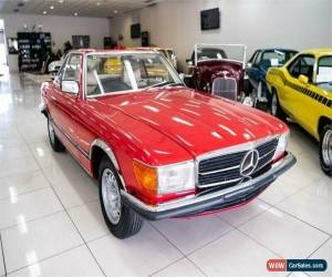 Classic 1976 Mercedes-Benz 450 SL Red Automatic 3sp A Convertible for Sale