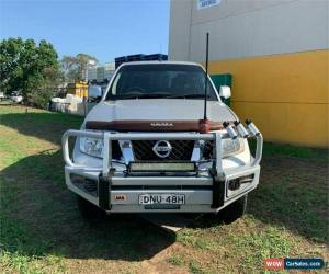 Classic 2012 Nissan Navara D40 S6 ST Silver Manual M Utility for Sale