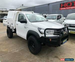 Classic 2015 Toyota Hilux GUN126R SR White Automatic A Cab Chassis for Sale