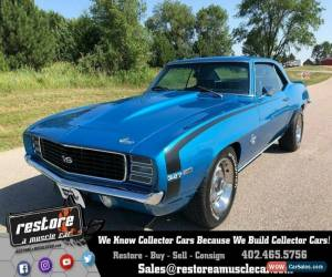 Classic 1969 Chevrolet Camaro RSSS 327 Auto, AC, Metallic Blue, Fully Restored for Sale