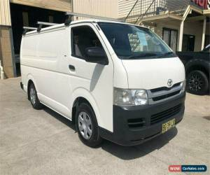 Classic 2010 Toyota HiAce TRH201R White Automatic A Van for Sale