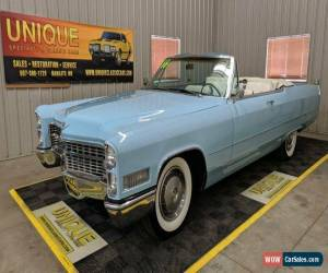 Classic 1966 Cadillac DeVille Convertible for Sale
