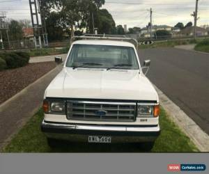 Classic 1992 Ford F250 TRAYBACK White Automatic A Trayback for Sale