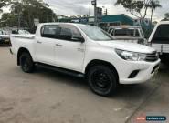 2015 Toyota Hilux GUN126R SR (4x4) White Automatic 6sp A Dual Cab Utility for Sale