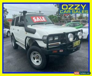 Classic 1994 Toyota Landcruiser (4x4) White Manual 5sp M Wagon for Sale