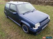 Renault 5 GT Turbo Raider Vintage Classic Supermini Hotrod Limited Edition Hatch for Sale