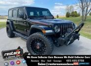 2018 Jeep Wrangler Wrangler Unlimited RUBICON, Black Mountain Custom for Sale