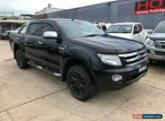 2012 Ford Ranger PX XLT Black Automatic A Utility for Sale