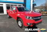 Classic 2020 Chevrolet Colorado WT Crew Cab 4X4 V6 MSRP $35395 for Sale