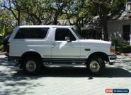 1993 Ford Bronco for Sale