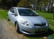 2009 Toyota Corolla 5D Hatchback 4SP Automatic klm 110,000 - Mint Blue for Sale