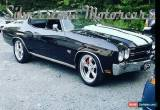 Classic 1970 Chevrolet Chevelle SS496 for Sale