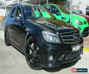 Classic 2009 Mercedes-Benz C63 W204 AMG Black Automatic 7sp A Sedan for Sale