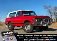 1972 Chevrolet Blazer K5, 4x4, 350ci Auto, Beautiful Restoration for Sale