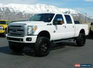 2015 Ford F-350 PLATINUM for Sale