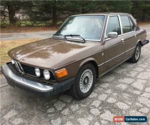 Classic 1979 BMW 5-Series for Sale