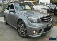 2009 Mercedes-Benz C63 W204 AMG Grey Automatic 7sp A Sedan for Sale