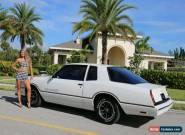 1986 Chevrolet Monte Carlo Chevrolet for Sale
