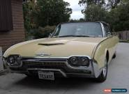 Ford Thunderbird  convertable  1961. for Sale