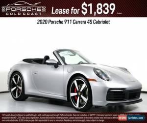 Classic 2020 Porsche 911 Carrera 4S for Sale