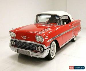 Classic 1958 Chevrolet Impala Convertible for Sale