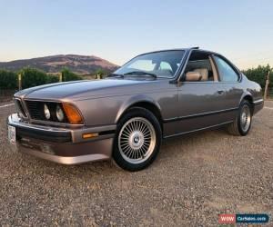 Classic 1988 BMW 6-Series 635CSI for Sale