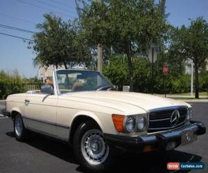 Classic 1983 Mercedes-Benz SL-Class Convertible for Sale