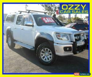Classic 2008 Mazda BT-50 B3000 SDX (4x4) White Manual 5sp M Dual Cab Pick-up for Sale