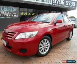 Classic 2010 Toyota Camry ACV40R 09 Upgrade Altise Burgundy Automatic 5sp A Sedan for Sale