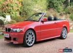 E46 BMW 318 2.0 16V CI FACTORY M SPORT CONVERTIBLE, FACELIFT MODEL. for Sale