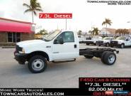 2002 Ford F-450 7.3L Diesel Cab and Chassis for Sale