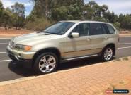 BMW X5 4.4i (2001) 4D Wagon Automatic (4.4L - Multi Point F/INJ) 5 Seats for Sale
