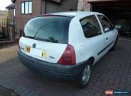 2000 Renault Clio 1.2 Petrol 3 door for Sale