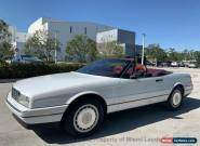 1992 Cadillac Allante Coupe Convertible for Sale