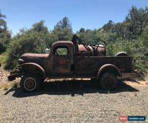 Classic 1948 Dodge Power Wagon for Sale