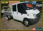 2008 Ford Transit VM White Manual 6sp M Crew Cab Chassis for Sale