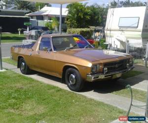 Classic 1971 Holden HQ KINGSWOOD UTE for Sale