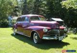 Classic Chevrolet: Fleetmaster for Sale