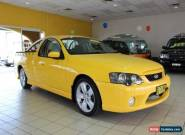 2006 Ford Falcon BF XR6 Yellow 4 SEQUENTIAL SPORTSHIFT AUTOMATIC Utility for Sale
