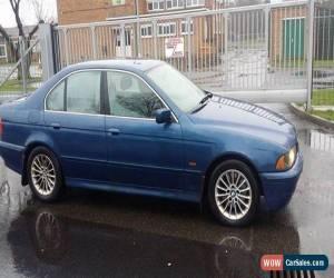 Classic 2001 BMW 530D BLUE for Sale