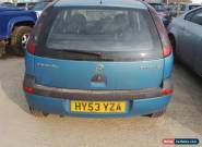 2003 VAUXHALL CORSA CLUB 16V BLUE for Sale