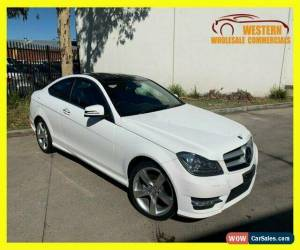 Classic 2014 Mercedes-Benz C-Class White Automatic A Coupe for Sale