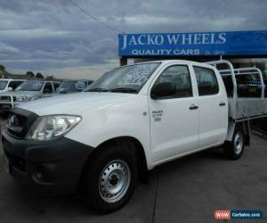 Classic 2009 Toyota Hilux TGN16R 08 Upgrade Workmate White Manual 5sp M for Sale