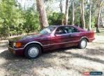 MERCEDES BENZ 560 SEC  for Sale