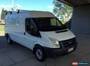 2010 Ford Transit VM MY08 Mid (MWB) Alabaster White Manual 6sp M Van for Sale