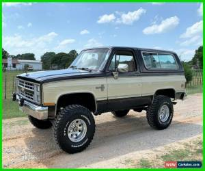 Classic 1986 Chevrolet Blazer 4WD, NO RESERVE K-5 Blazer for Sale