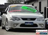 2008 Ford Falcon BF MkII 07 Upgrade XR6 Silver Manual 6sp M Sedan for Sale