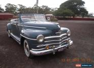 47 Plymouth Convertible for Sale