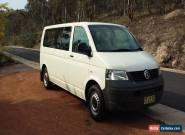 VW TRANSPORTER T5 2008 MODEL 2.5tdi 7 SEATER. (Long) NSW rego till 29/10/2016 for Sale